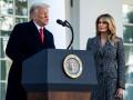 Мелания Трамп осудила беспорядки в здании Конгресса