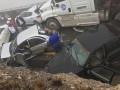 В Мексике более 50 авто попали в ДТП