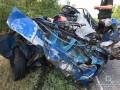 В Запорожской области легковушка разбилась о грузовик: есть погибшие
