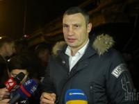 Кличко нашел виновных в обрушении Шулявского моста