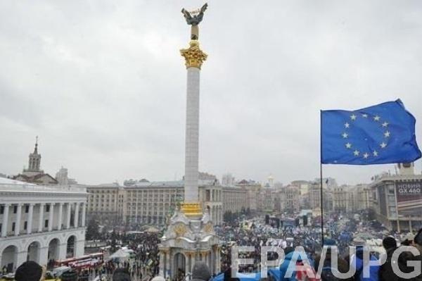 Украинцы отмечали пятую годовщину Евромайдана
