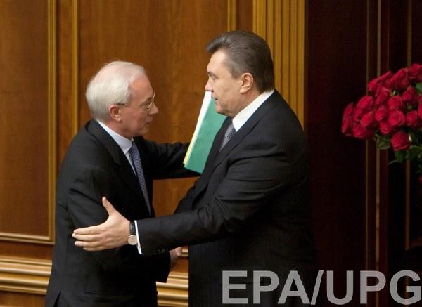 Больше $1 млрд находится на счетах Азарова и Януковича в Ощадбанке