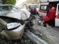 В Житомире пьяный водитель сбил на тротуаре двух пешеходов