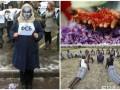 День в фото: акция протеста в Киеве, самая дорогая пряность в Кашмире и йога в тюрьме Кении