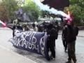 Беларусь возмутила акция анархистов у посольства в Киеве