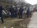 В Хмельницкой области перевернулся автобус: восемь пострадавших