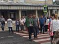 Во Львовской области жители перекрыли трассу, ведущую к польской границе