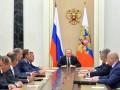 Путин провел совещание Совета безопасности по Крыму