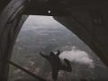Нацгвардия впервые провела прыжки с самолета