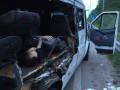 На трассе Киев-Харьков в ДТП погиб пассажир микроавтобуса