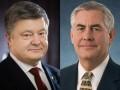 Порошенко обсудил с Тиллерсоном, как вернуть Крым в Украину