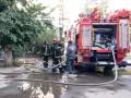 В многоэтажке Киева горели балконы на четырех этажах