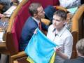 Савченко: Украина – это граната, чека – Донбасс, а кольцо – Конституция