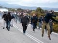В Греции люди протестуют против новых лагерей для мигрантов