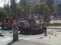 В результате взрыва автомобиля в Киеве погиб начальник разведки