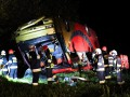 Автобус с украинскими детьми упал со склона в Польше: есть погибшие