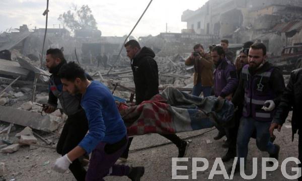 Российские военные и армия Асада нанесли авиаудар по провинции Идлиб в Сирии