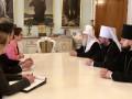 Глава УПЦ КП встретился с американским послом