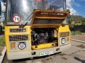 В Донецкой области загорелся школьный автобус