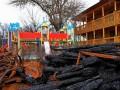 Пожар в лагере Виктория: строителей подозревают в хищении 1,7 млн грн
