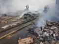 Близ киевского аэропорта пылали склады