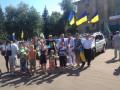 Дзержинск заполонили украинские флаги: город отметил годовщину освобождения от боевиков