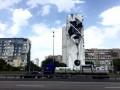В Киеве появился новый мурал от греческого художника