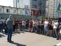 Радикалы пикетируют патрульную полицию Киева