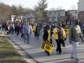 Жители Фергюсона начали семидневный марш к резиденции губернатора Миссури