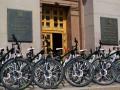Лисапетный батальон: Столичные патрульные пересели на велосипеды