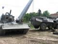 Как добровольцы восстанавливают военную технику в зоне АТО (фото)