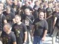 УПЦ МП призвала к войне: в Почаеве паломники шли в провокационных футболках