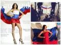 Мисс Россия - 2015 обвиняют в надругательстве над флагом