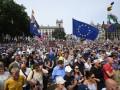 В Лондоне прошел массовый митинг за новый референдум по Brexit
