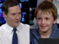 Младшеклассник поставил в тупик канцлера британского казначейства
