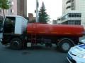 В центре Киева угнали коммунальный водовоз