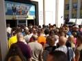 На метро Вокзальная в Киеве снова утром образовалась