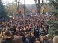 Министра на ЗНО: студенты пикетируют Минобразования (фото)