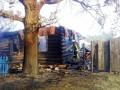 На Черниговщине из-за сухой травы сгорело пять домов и два сарая