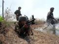 На Донбассе обстреляли село с мирными жителями