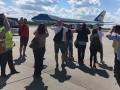 Самолет Трампа стал причиной задержки авиарейса в Варшаве