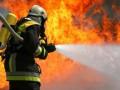 В Киеве горел автовокзал у метро Демеевская
