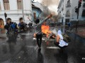 Протестующие в Эквадоре тяжело ранили телеведущего
