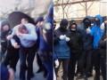 Депутата из партии Медведчука забросали яйцами