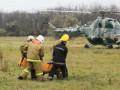 Вертолет во Львовской области рухнул при взлете