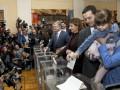 Порошенко: Я проголосовал за Украину