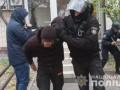 На Печерске снова задержали активистов, пострадали полицейские