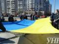 Киевляне требуют от Нацбанка остановить строительство высотки на Теремках