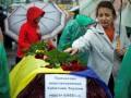 В Днепропетровске похоронили тела неопознанных солдат