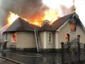 Поджог: Под Харьковом сгорел храм